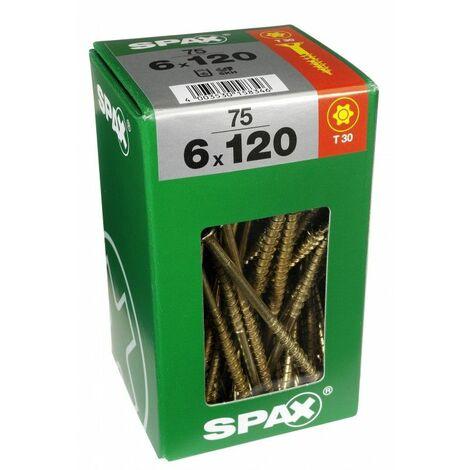 acier zingué 3.5 x 13 mm TF Lot de 100 vis à bois