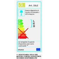 Abat-jour led gea luce iole l 12w led 600lm 3000 ° k dimmable aluminium doré intérieur classique