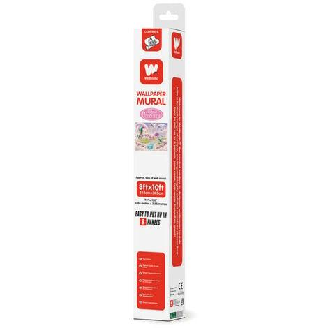 Papier peint mural enfant Licornes 305X244 CM