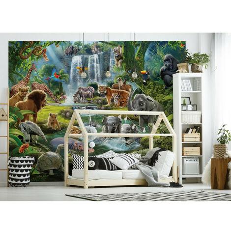 Papier peint Le monde de la jungle Walltastic 305X244 CM