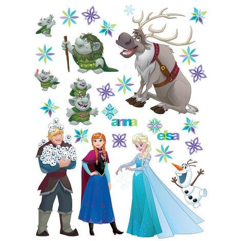 Stickers géants La Reine des Neiges Frozen Disney
