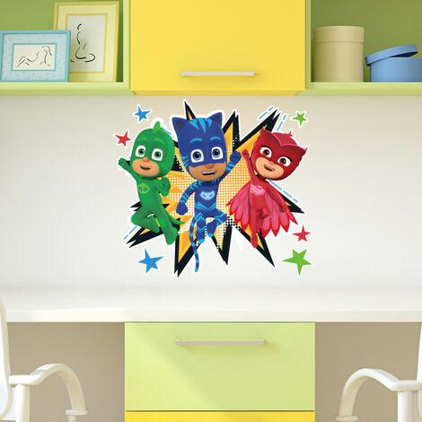 Stickers géants Trio Pyjamasques