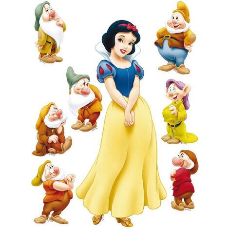 Stickers géant Blanche Neige et les 7 Nains Disney 42.5 x 65cm
