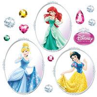 23 Stickers pour vitre Princesse Disney