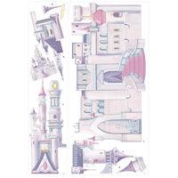 Stickers Château Belle au bois Dormant Princesse Disney