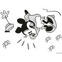 Stickers Noir et Blanc Minnie Mouse Disney