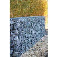 Gabion décoratif rectangulaire H 30 x L 30 x l 60 cms