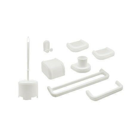 0908001 Cassellie set di accessori da bagno in metallo 6 pezzi