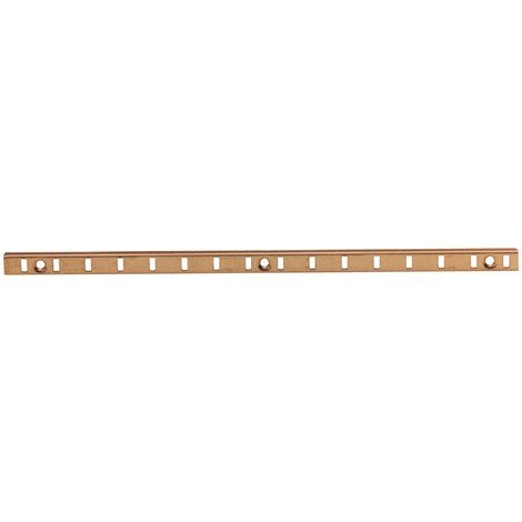CREMAGLIERA OTTONATA MM. 9X5 DA ML.2 Pz 10,0