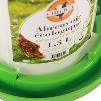 Abreuvoir plastique ligne verte 1.5 l