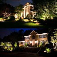 Focos LED para exteriores, luces de jardín blancas cálidas de 3W 3000K 1440LM con pincho, focos de luz LED para exteriores IP65 a prueba de agua para jardín, camino, terraza [Clase energética A +] - 6 piezas