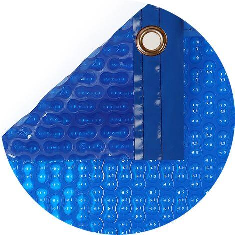 Cobertor térmico de 500 micras Geo Bubble con orillo o refuerzo en todo el contorno de 8 x 4.5m.