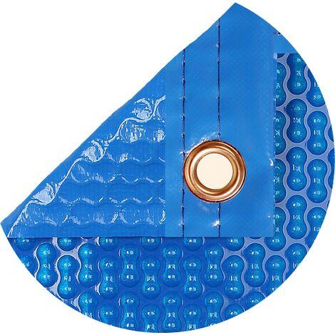 Cobertor térmico de 700 micras reforzada con polietileno y orillo o refuerzo en todo el contorno de 8 x 4.5m.
