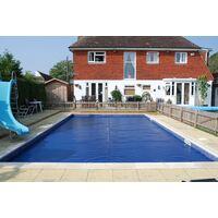 Cobertor Térmico con refuerzo en los anchos 600 micras ECO para piscina de 5 x 3 metros