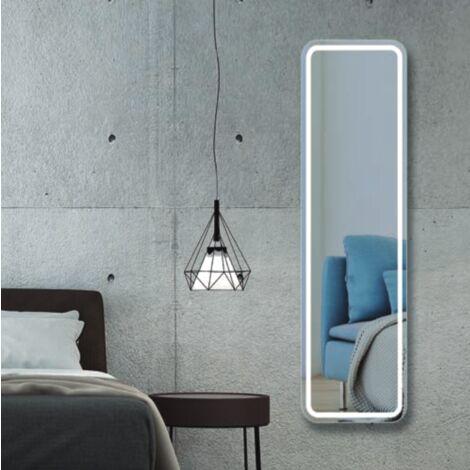 ESPEJO CARUSO VESTIDOR LED FRONTAL 150X45 CM