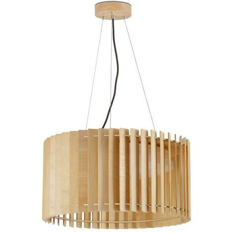Lampe suspension bois modèle PARKS.