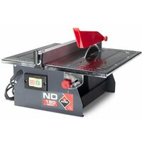 Cortador mesa portátil para cortar y fresar cerámica Rubi ND180 SMART
