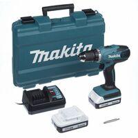 Taladro atornillador a batería Makita DF457DWE