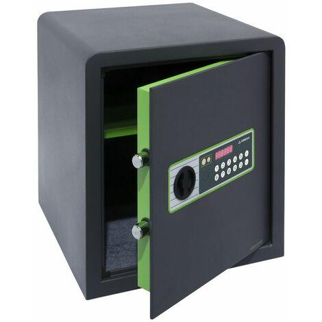 Arregui Supra 240160 Coffre-fort à poser, 6 mm, ouverture à code électronique, 38 x 35 x 36 cm, 41 L - gris foncé