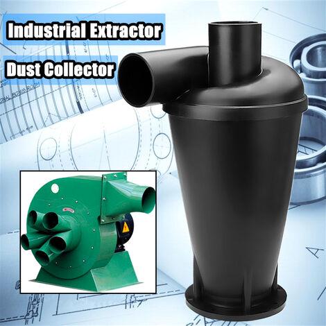 Extractor de polvo de carpintero Colector de aspiración Separador de filtro de limpieza