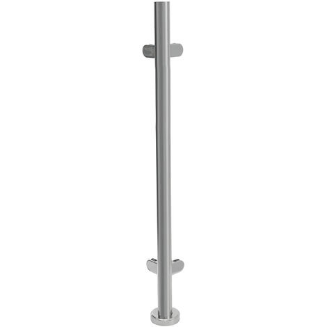 Stainless Steel Balustrade Posts Staircase Handrail Post Glass Post 110cm Side post