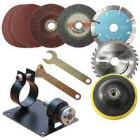 Electric Kit Drill Drill Bit Cutting Machine Support Polishing Grinder Tool