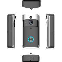 WiFi Doorbell IR Video Camera Security Night Vision Telephone Control US SOCKET