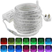 LED Strip Lights Color Changing 5050 SMD Decorative Lamp Waterproof Tape Rope 6 m