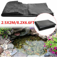 Fish Pools Pond Liner HDPE Membrane Reinforced Gardens Landscaping Durable UV/Rot resistant 2.5X2M