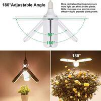 Plant Grow Light Full Spectrum Lamp 3 blades