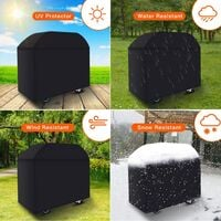 BBQ Cover Barbecue Grill Outdoor Protector Waterproof cover 170x61x117cm