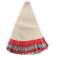Christmas Tree Dress Skirt Decor Carpet red 96cm