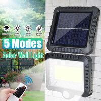 5 Modes 120LED COB Solar Powered Flood Light Spotlight Street Lamp