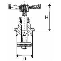 """1 """"roue de laiton tête de vanne remplacement à des fins d'eau et de chauffage"""