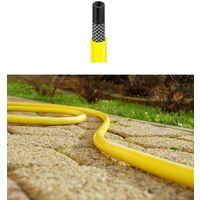 """Flexible long jardin trois couches jaune tuyau hosepipe longueur de 30m 1 """"de diamètre"""
