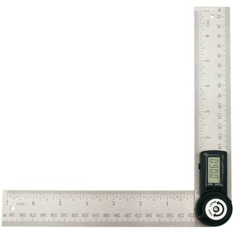 angle de rapporteur numérique 30 cm réglable