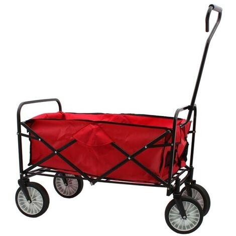Folding économique de chariot 4 roues