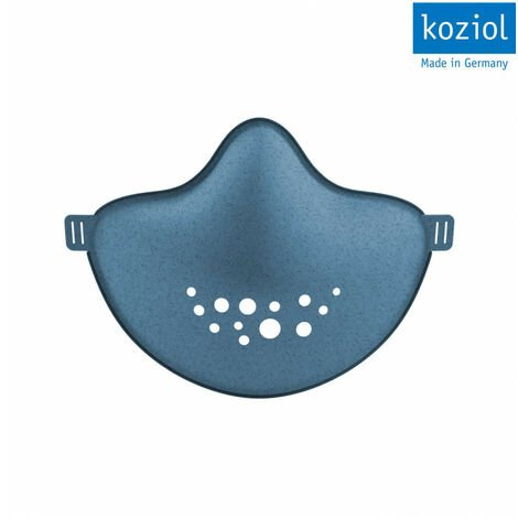 Masque barrière durable - Lavable et réutilisable - Bleu