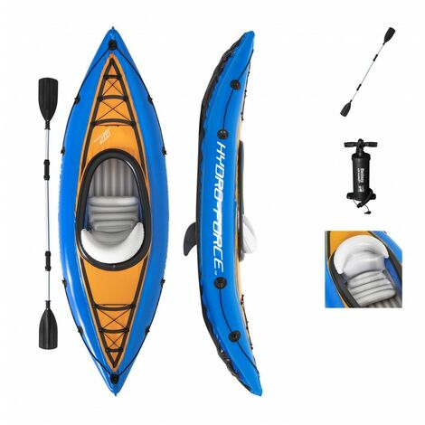 Kayak gonflable - Cove Champion Hydro Force - 275 x 81 cm - Livraison gratuite