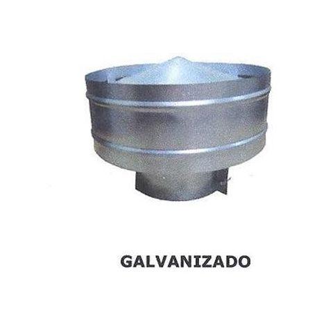 SOMBRERO ANTIRREGOLFANTE GALVANIZADO 120 MM.