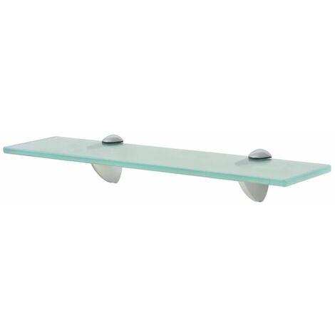 Floating Shelf Glass 40x20 cm 8 mm