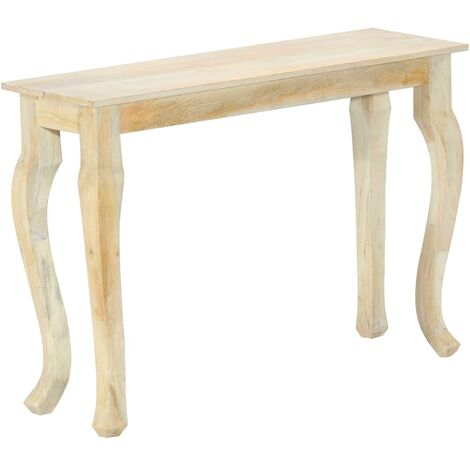 Console Table 110x35x77 cm Solid Mango Wood