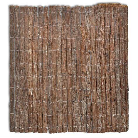 Bark Fence 400x170 cm