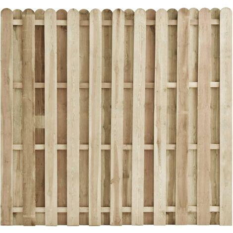 Fence Panel Impregnated Pinewood 180x170 cm