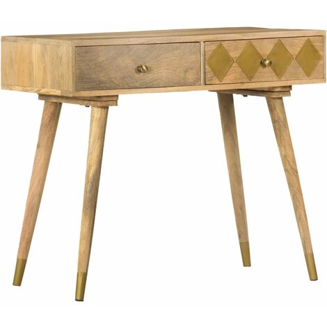Console Table 89x44x75 cm Solid Mango Wood