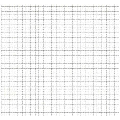 Crimped Garden Wire Fence Stainless Steel 50x50 cm 21x21x2.5 mm