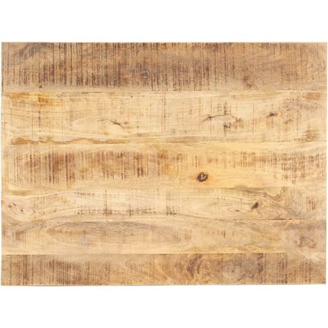 Table Top Solid Mango Wood 15-16 mm 90x60 cm