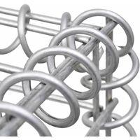 Gabion Basket Galvanised Steel 200x30x100 cm
