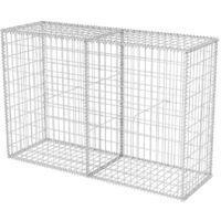 Gabion Basket Galvanised Steel 150x50x100 cm