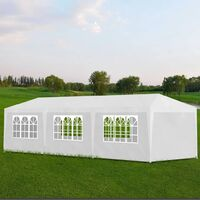 Party Tent 3x9 m White